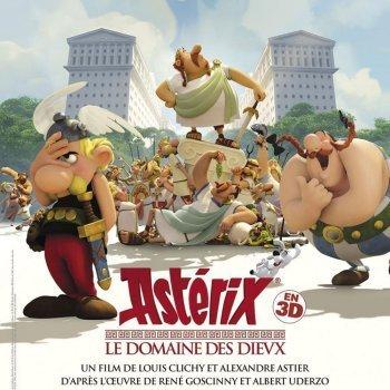 Astérix. La residencia de los dioses. Película de dibujos para niños