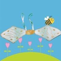 Cómo hacer unas alas de abeja para un disfraz