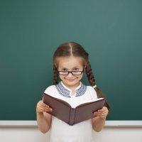 Cómo lee un niño que no ve bien