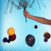 Cómo hacer un sistema solar de papel maché