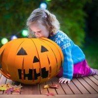 Calabaza linterna para Halloween