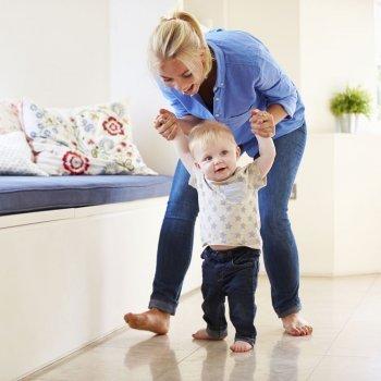 Trucos para enseñar a andar a los bebés