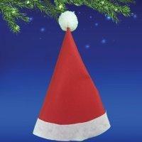 Cómo hacer el gorro de Papá Noel. Manualidades navideñas