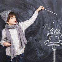 3 trucos de magia para niños pequeños