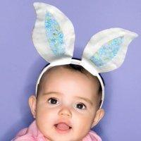 Hacer unas orejas de conejo. Complementos de disfraces.