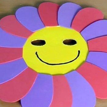 Máscara de flor