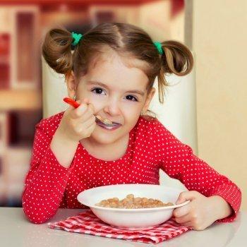 El desayuno ideal de los niños