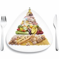 Pirámide nutricional en la dieta de los niños