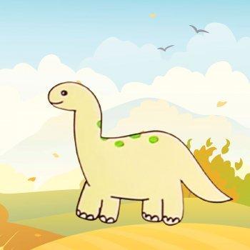 Aprender a dibujar un dinosaurio