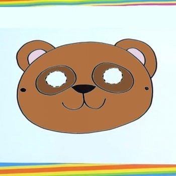 Máscara de oso
