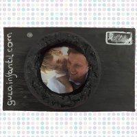 Cómo hacer una caja marco con forma de cámara de fotos