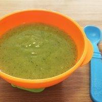 Puré de calabacín, zanahoria y patata para bebés y niños