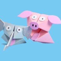 Cómo hacer comecocos de animales con cartulina