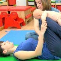 Gimnasia con el bebé