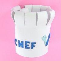 Cómo hacer un gorro de cocinero casero para un disfraz infantil