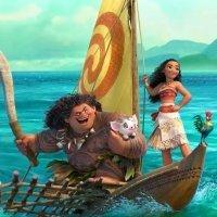 Moana (Vaiana). Película de dibujos animados para niños