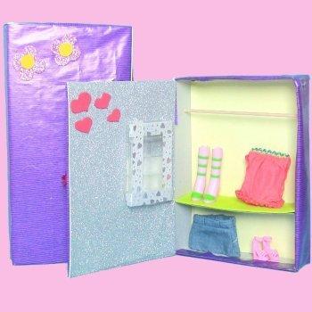Cómo hacer un armario de juguete para muñecas