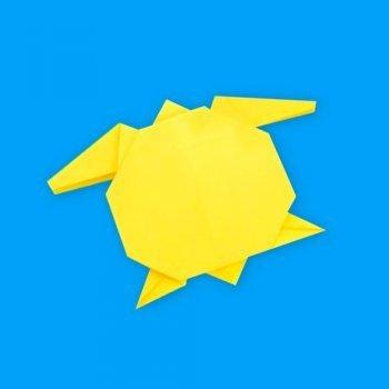 Cómo hacer una tortuga de origami de forma fácil