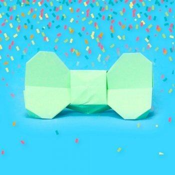 Pajarita de origami