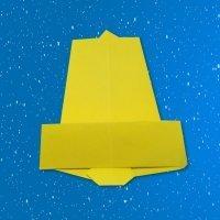 Cómo hacer una campana de Navidad con papel para decorar