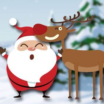 Cuento de Rodolfo el reno. Cuento de Navidad para niños