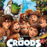 Película para niños. Los Croods: una aventura prehistórica