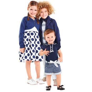 Descuentos en ropa para mamás, bebés y niños.