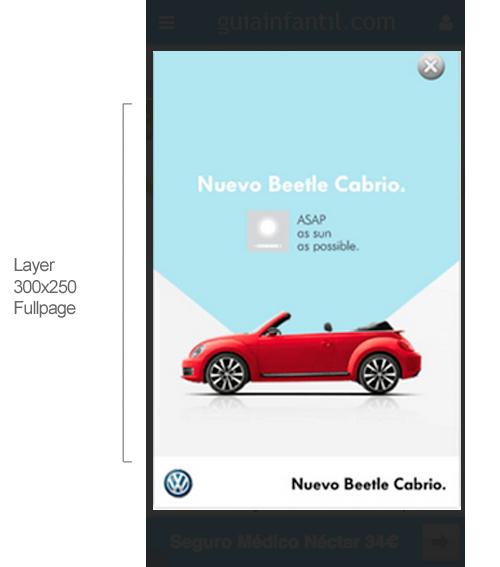 Especificaciones técnicas de publicidad versión móvil