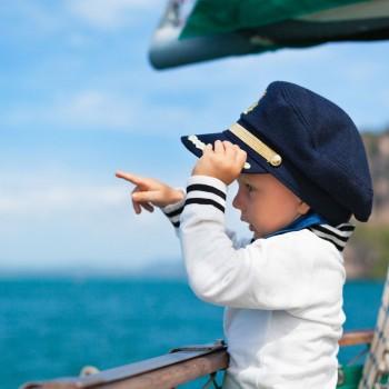Viajar con el bebé en barco