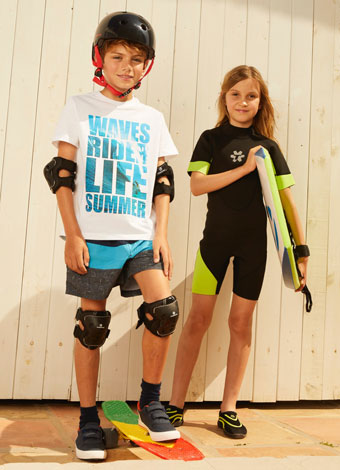 Ropa deportiva para niños