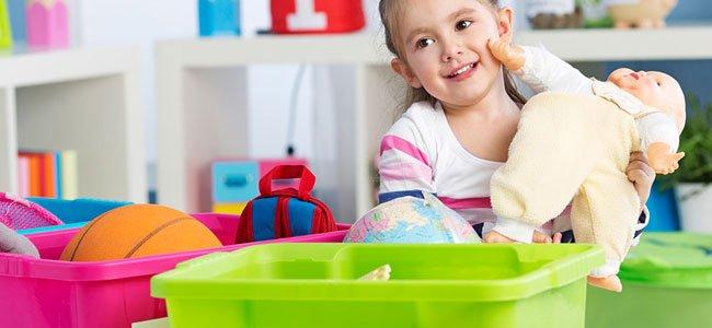 Cómo reciclar los juguetes de los niños