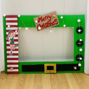 Photocall de elfos para Navidad