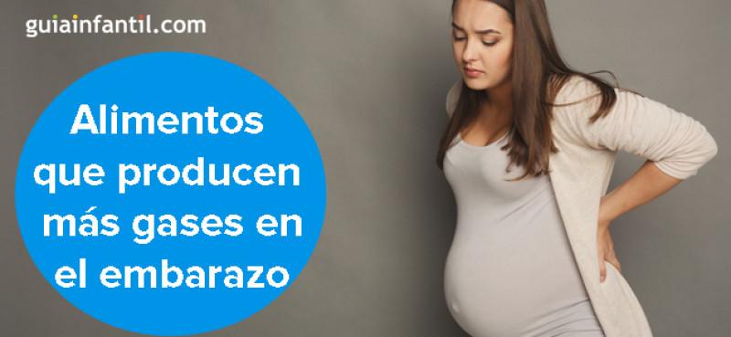 Alimentos que producen más gases en el embarazo. ¡Mucho..