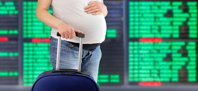 Viajar durante el embarazo