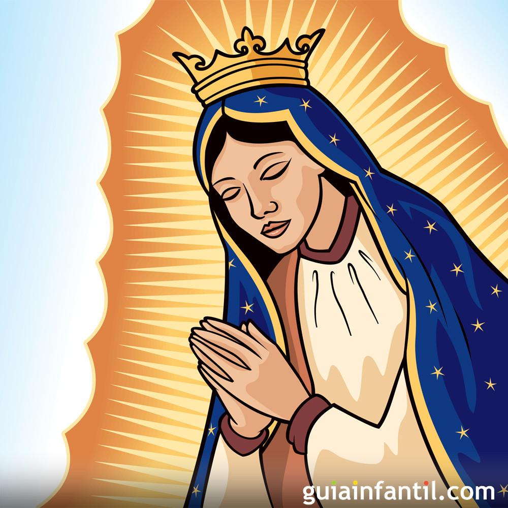 Cuento Corto Para Niños Sobre La Virgen De Guadalupe