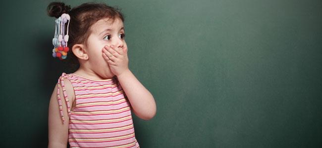 Por qué a los niños les gusta decir palabrotas