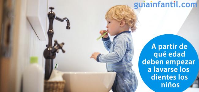 A Partir De Qué Edad Deben Empezar A Lavarse Los Dientes Los Niños