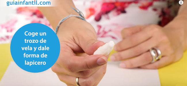 Cómo fabricar tinta invisible