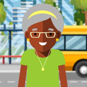 Biografía en cuento de Rosa Parks para niños