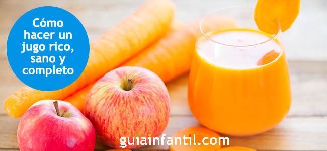 Zumo De Zanahoria Manzana Y Naranja Lleno De Vitaminas Algunas de las vitaminas en zanahorias son: https www guiainfantil com recetas postres y dulces para ninos helados y sorbetes zumo de zanahoria manzana y naranja lleno de vitaminas