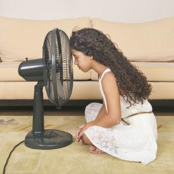 Cuidado con el ventilador en la habitación de los niños