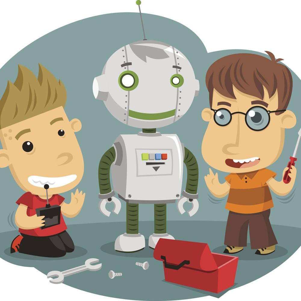 Robots Para El Verano Un Cuento Para Niños Sobre El Futuro
