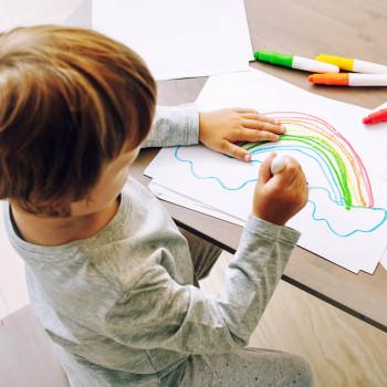 El dibujo infantil y las etapas de los niños