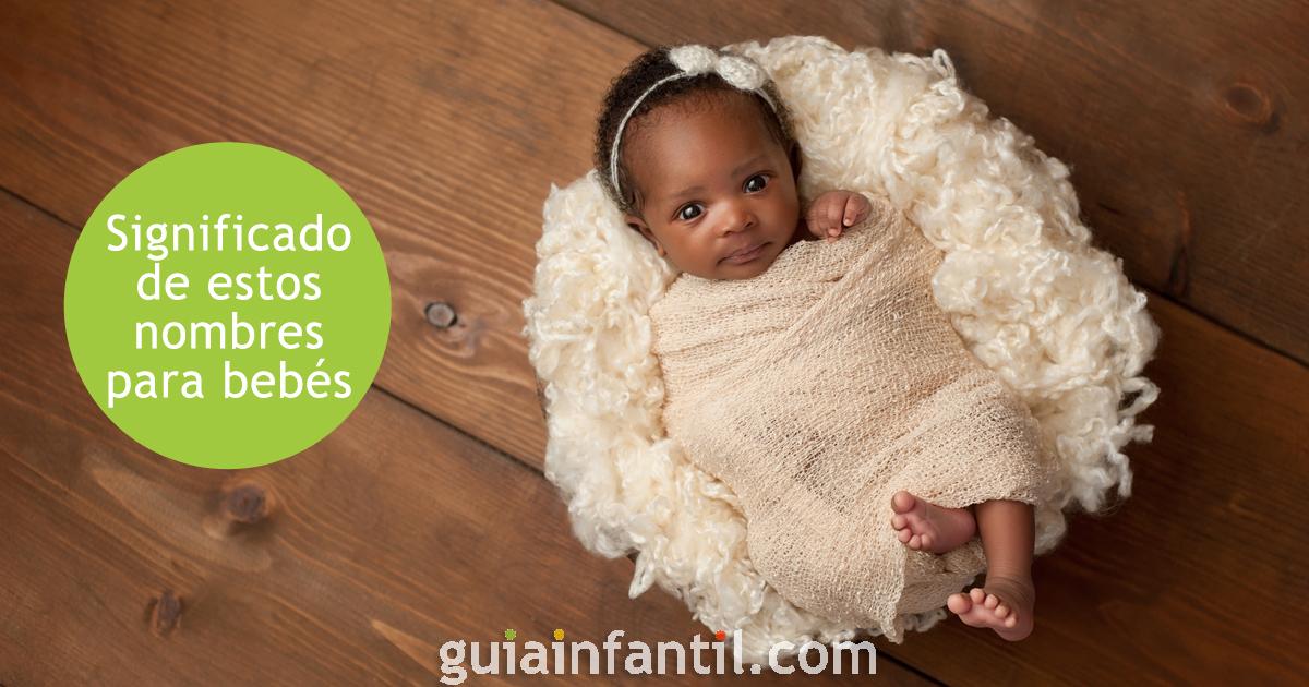Le sens des noms des bébés africains