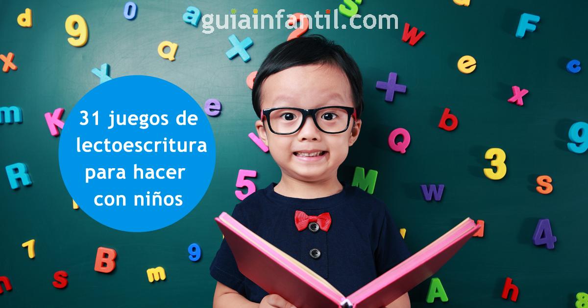 31 Divertidas Actividades De Lectoescritura Para Hacer Con Niños