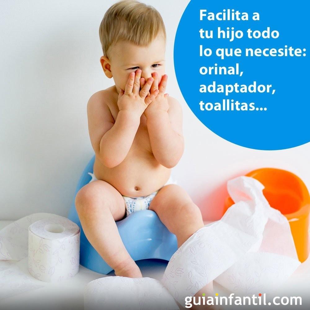 Retirar el pañal según el método Montessori: facilita el proceso al bebé