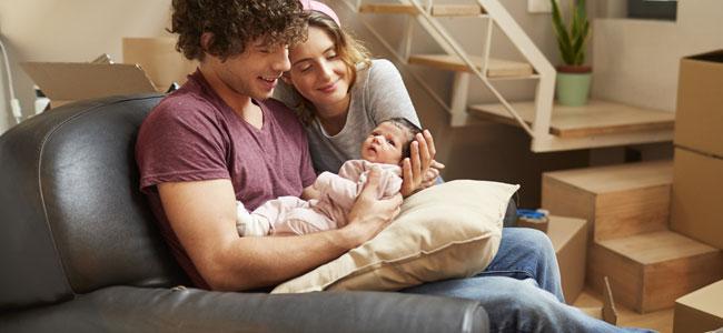 Cómo cuidar a un bebé en casa