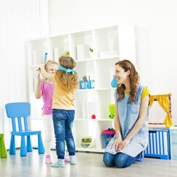 Un juego para crear vínculos afectivos en los niños: 'Eres, eres...'