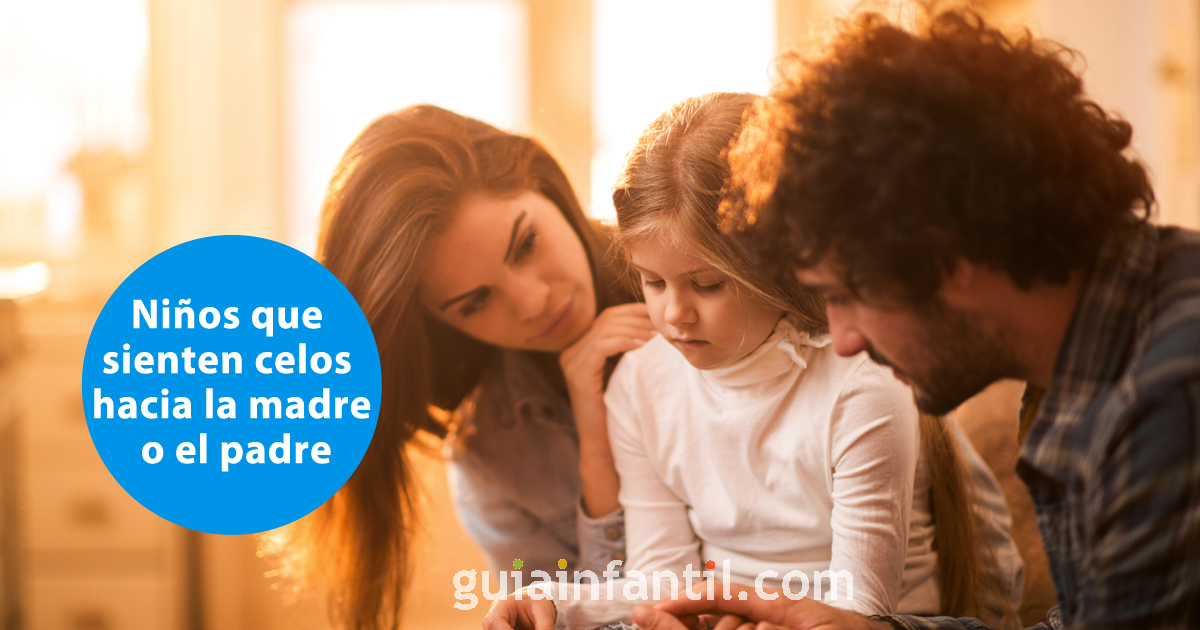 ciúme infantil em relação ao seu pai Ou mãe