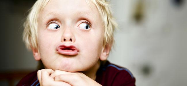 Ejercicios de labios para niños